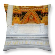 Library Of Congress Throw Pillow
