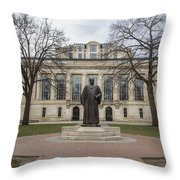 Library Ohio State University  Throw Pillow
