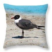 Lido Gull Throw Pillow