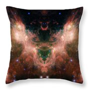 Life And Death Of Stars 4 Throw Pillow