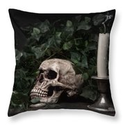 Life And Death Throw Pillow
