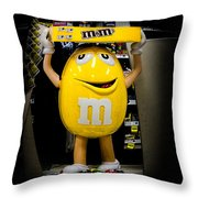 Life And Times Of Big M Throw Pillow