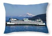 Life Around The San Juan Islands - Washington Throw Pillow