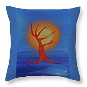 Life Blood By Jrr Throw Pillow