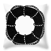 Life Buoy Throw Pillow