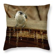 Life Can Be Tough Throw Pillow