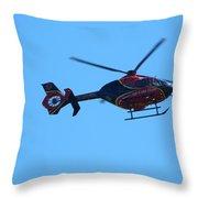 Life Flight Throw Pillow
