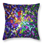 Life Force By Jrr Throw Pillow