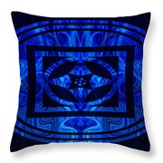 Life Force Within Abstract Healing Artwork Throw Pillow