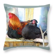 Life Goes On And On And On But One Day It's All Over  Throw Pillow