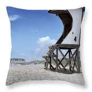 Life Guard Station Throw Pillow