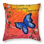 Life - Healing Art Throw Pillow by Absinthe Art By Michelle LeAnn Scott