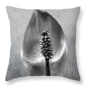 Life In Black And White Throw Pillow