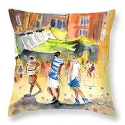 Life In Cartagena 01 Throw Pillow