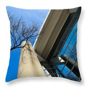 Life In Glass Throw Pillow