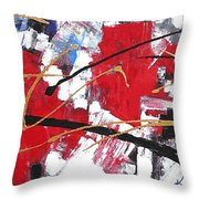 Life In The City Throw Pillow