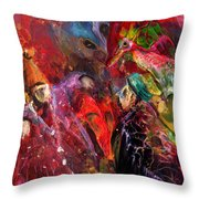 Life Is A Carnival 02 Throw Pillow