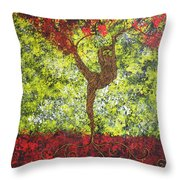 Life Is But A Dance Throw Pillow