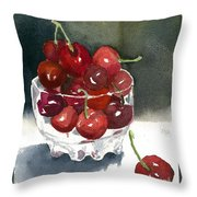 Such A Cheery Note Throw Pillow