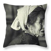 Life Is Life  Throw Pillow