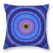 Life Light - Abstract Art By Sharon Cummings Throw Pillow