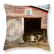Life On The Farm Throw Pillow