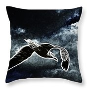Life On The Wind  Throw Pillow