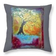 Life Renewing Throw Pillow