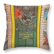 Life Should Be Throw Pillow