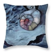 Life Spiral And The Live Atmosphere Throw Pillow