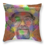 Life Splats You In The Face Throw Pillow