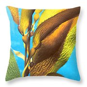 Life Underwater 1 Throw Pillow