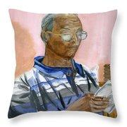 Lifelong Learner Throw Pillow