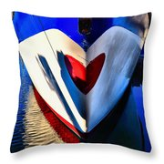 Life's Blood Throw Pillow