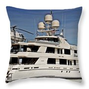 Lifestyle Of The Super Rich Throw Pillow