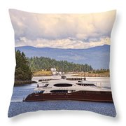 Lifestyles Of The Rich And Famous Throw Pillow