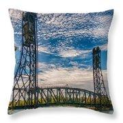 Lift Bridge 3d21789 Throw Pillow