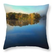 Lifting Fog Throw Pillow