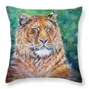 Liger Throw Pillow