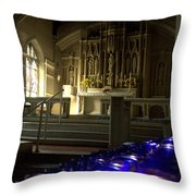 Light A Candle Throw Pillow