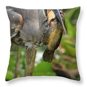 Light Afternoon Snack Throw Pillow