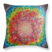 Light Analysis Throw Pillow