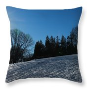 Light And Blue Throw Pillow