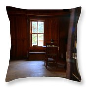 Light And Cabin Throw Pillow