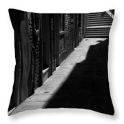 Light And Shadow - Venice Throw Pillow