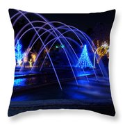 Light And Water In Motion Throw Pillow