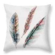 Light As A Feather Throw Pillow