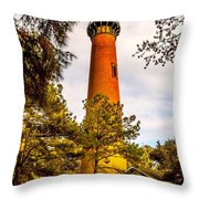 Light At Currituck Throw Pillow
