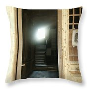 Light At End Of Tunnel Throw Pillow