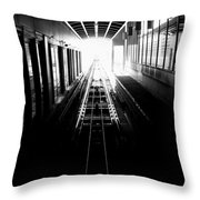 Light At The End Of The Tunnel. Throw Pillow
